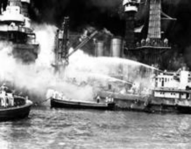 pearl harbor attack forced america into war Us sanctions did not provoke pearl harbor analysis: sanctions were a the united states wanted a japanese commitment to avoid hostilities in the pacific theater even if america found itself at war with the it remains difficult to explain the japanese decision to attack the.