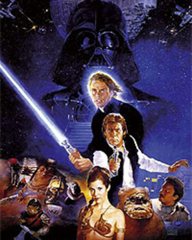 Episode VI: The Return of the Jedi released in theatres