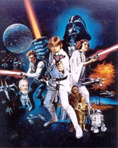 Episode IV: A New Hope released in theatres
