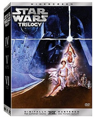 DVD editions of the original trilogy released