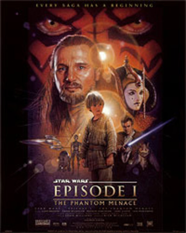 Episode I: The Phantom Menace released in theatres