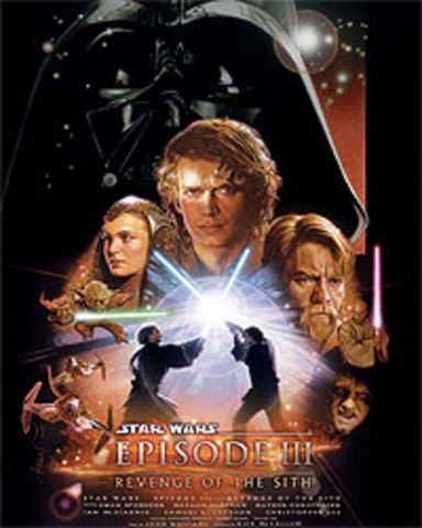 Episode III: Revenge of the Sith released in theatres.