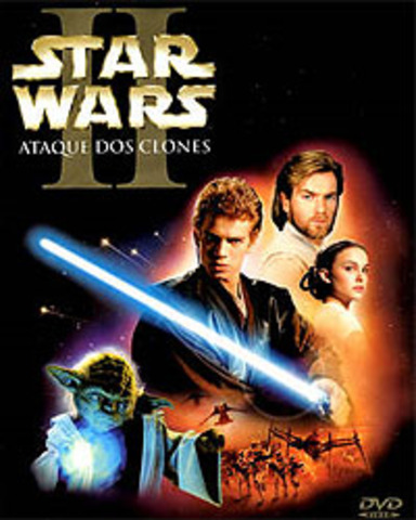 DVD release of Attack of the Clones