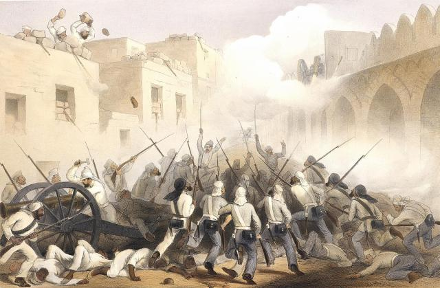 The Sepoy Rebellion