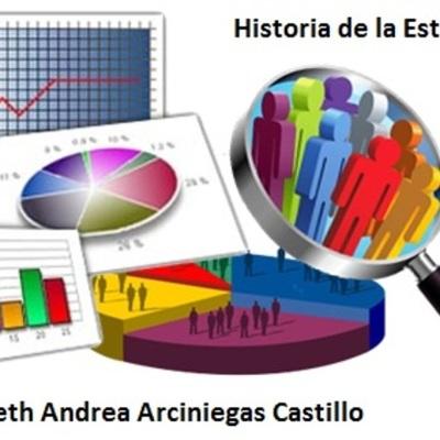 T1 Linea de Tiempo - Historia de la Estadística - Autora: Julieth A. Arciniegas C. timeline