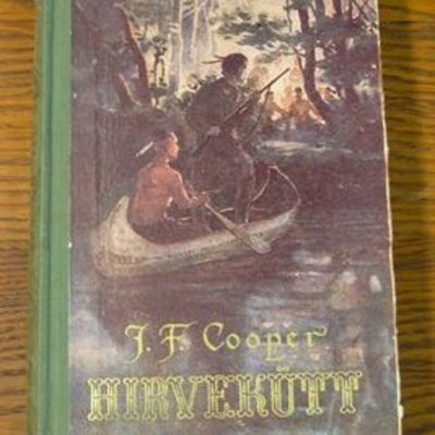 "J. F. Cooper ""Hirvekütt"" tyrigy timeline"