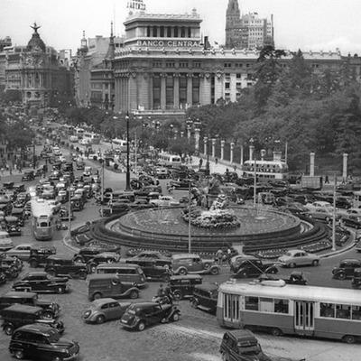España en los años 50 timeline