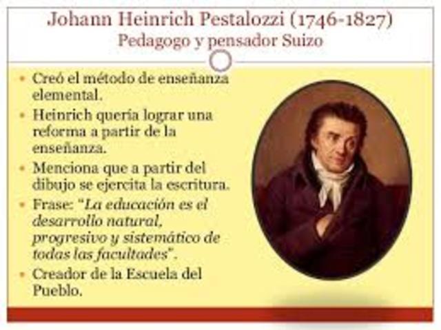 El poder de la Educación (Pestalozzi)