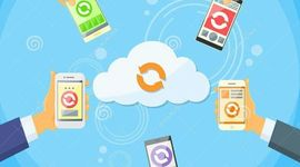 La evolución de los dispositivos móviles, su uso en la Nube y sus Apps. timeline