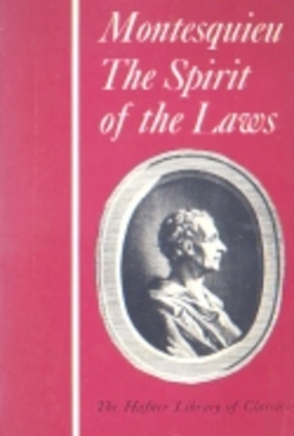 """the many significant governmental theories in the spirit of laws by baron de montesquieu Get a free copy of """"the spirit of the laws"""" by baron de montesquieu the spirit of the laws by montesquieu is a treatise on political theory, originally published anonymously in 1748, has become one of the most influential works of political science ever written."""