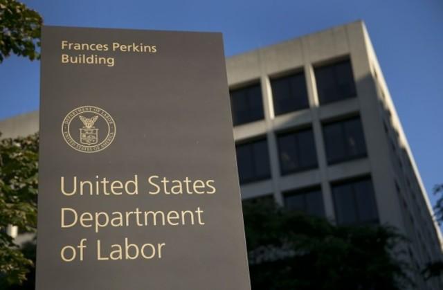 El Departamento de Trabajo estadounidense