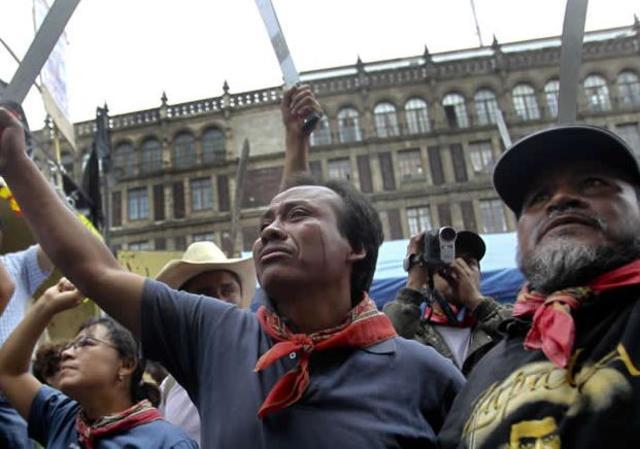 Enfrentamientos en Atenco