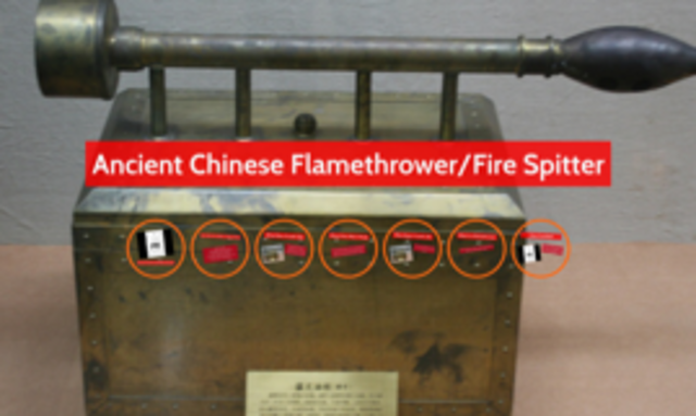 CHINESE FLAMETHROWER
