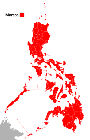 Ferdinand Marcos' Election (Opposition Boycotted)