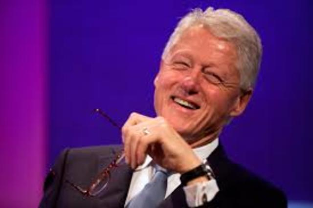 70 year old Bill Clinton