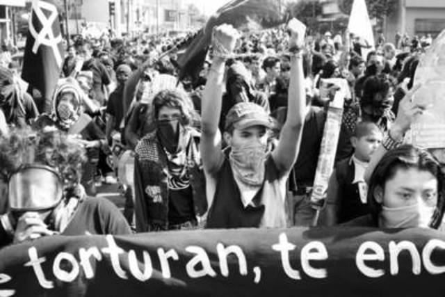 MOVIMIENTO ALTERMUNDISTA EN LA CIUDAD DE GUADALAJARA 2004