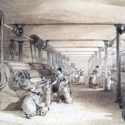 The First Industrial Revolution timeline