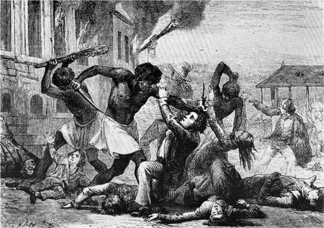 Slave rebellion in Stono South Carolina
