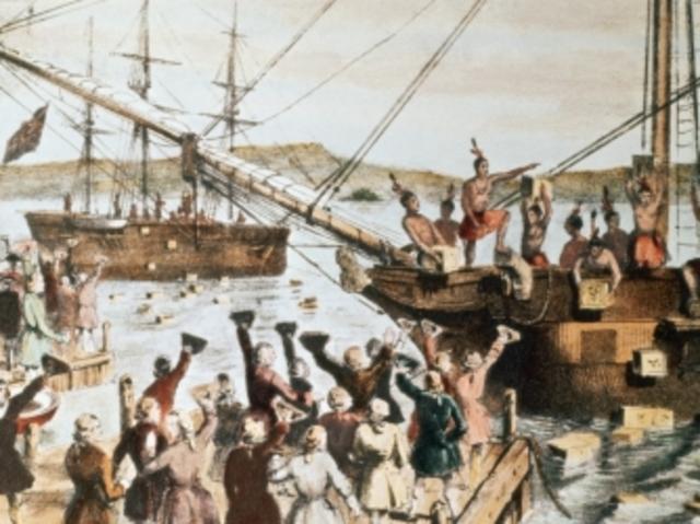 Le Boston Tea Party et ses conséquences