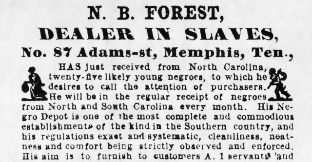The importation of slaves from Africa is banned