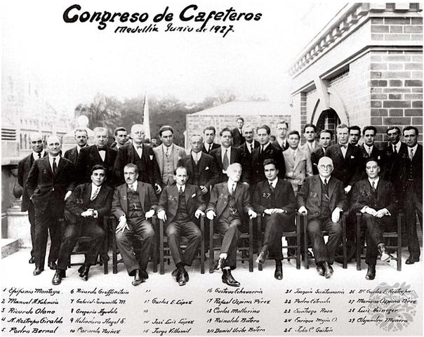 Nace la Federación Nacional de Cafeteros