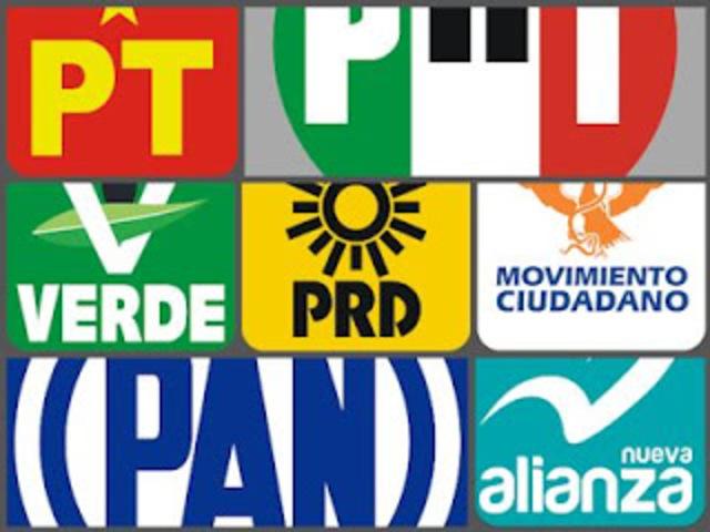 Formación de partidos políticos en México (PAN,PRI, PRD, PVEM, etc)