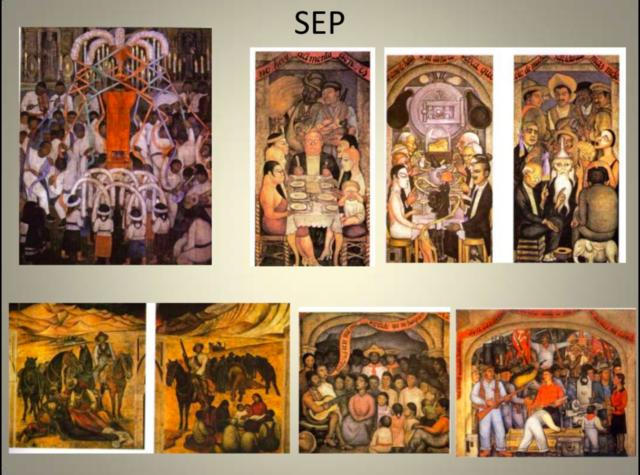 Muralismo en México pr Diego Rivera