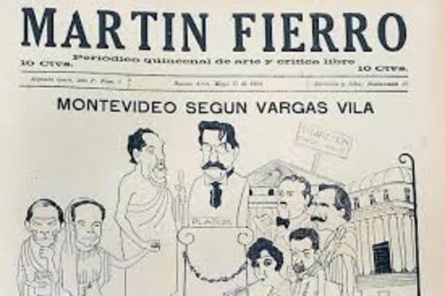 La revista Martín Fierro