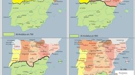 muslim presence in the iberian peninsula/ presencia musulmana en la península ibérica timeline