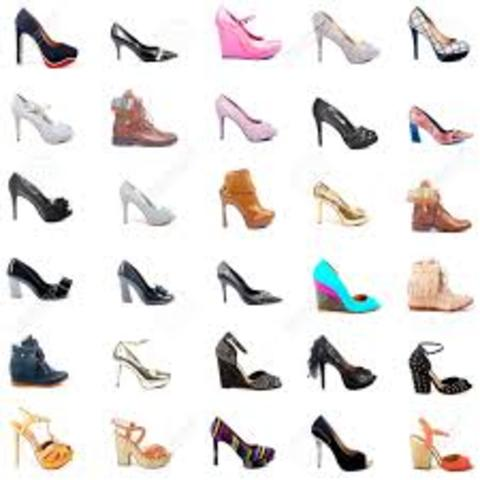 what are the different types of heels
