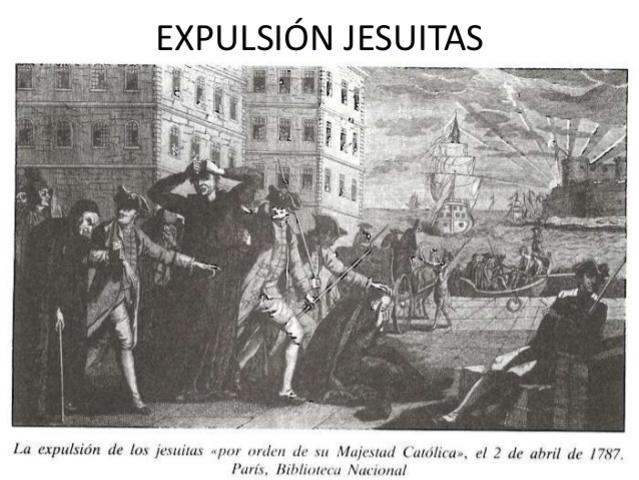 Expulsion de Jesuitas