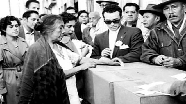 Derecho en México a las mujeres para votar