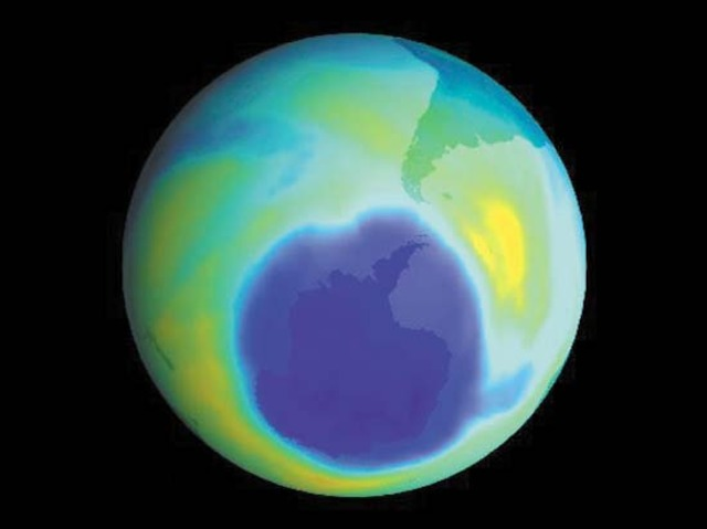 First Ozone Layer Hole