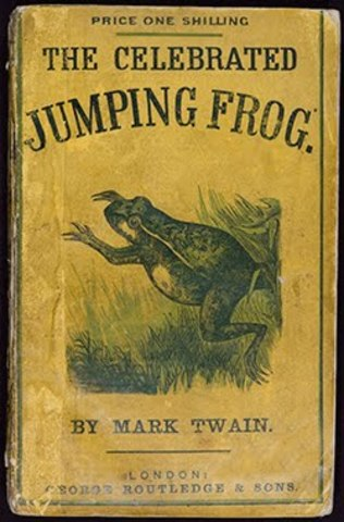 "jim smiley and his jumping frog ""jim smiley and his jumping frog"" the celebrated jumping frog of calaveras county (""jim smiley and his jumping frog"") in this little notebook, which dates from early 1865, the 29-year-old."