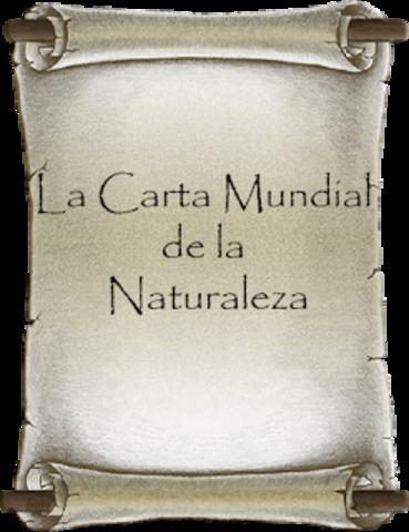 Se crea la carta mundial de la naturaleza