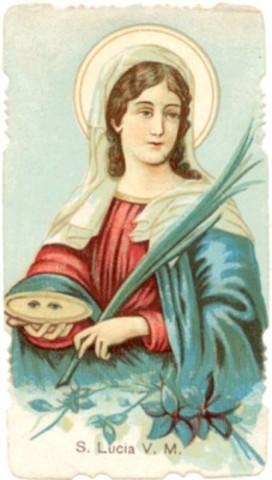 Saint Lucy(Italy)