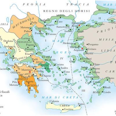 La guerra del Peloponneso timeline