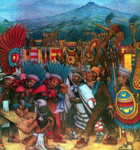 Llegada a Cholula (600 aprox.)