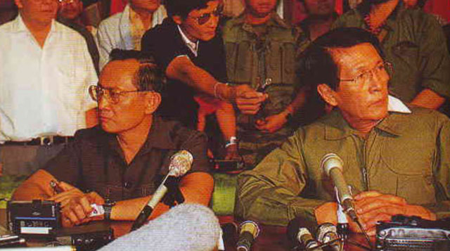 Ramos & Enrile defect from Marcos' army
