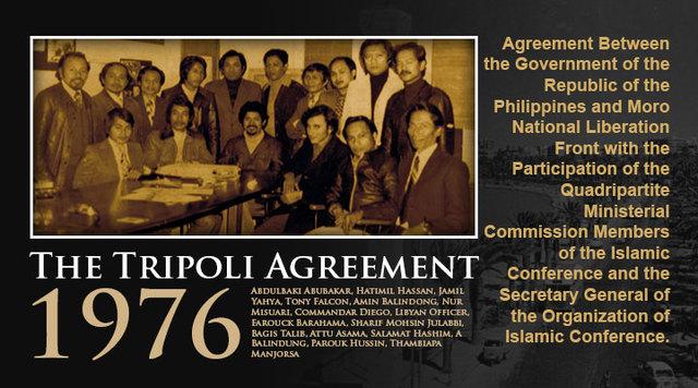 1976 Tripoli Agreement