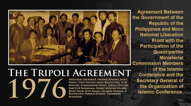 1976 Tripoli Agreement
