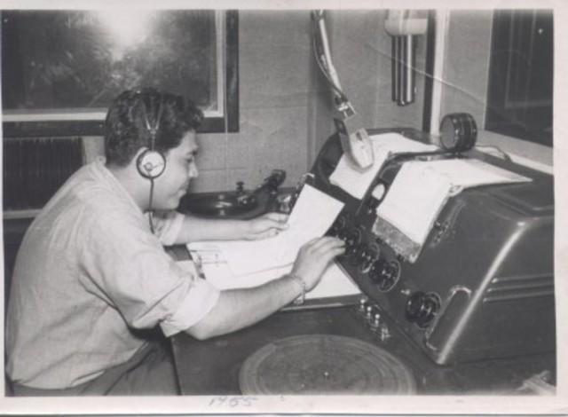 Primer programa de radio (Más amplio)