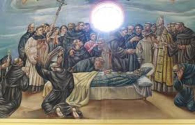 Muerte de San Agustín.