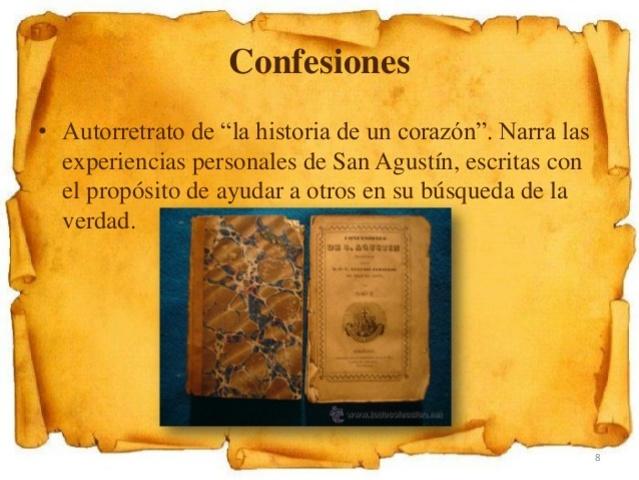 """""""Las Confesiones"""""""