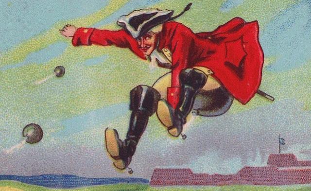 Барон Мюнхгаузен (Э. Распе «Приключения барона Мюнхгаузена»)
