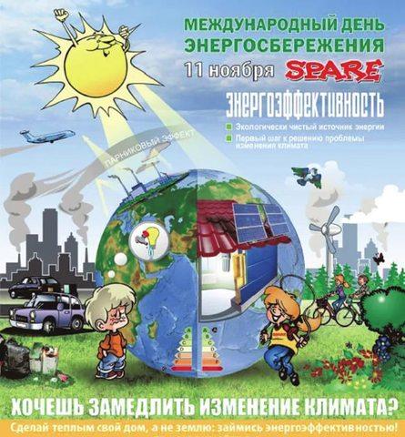 """Международный день энергосбережения. Команда """"ЭКО патруль"""" МБОУ СШ №12"""