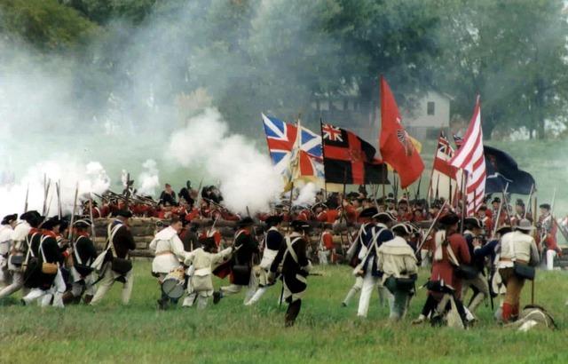 The Battle of Saratoga (Freeman's Farm)