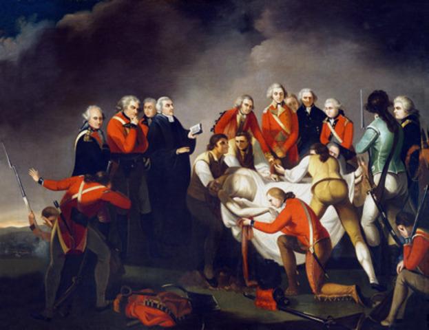 The Battle of Saratoga (Bemis Heights)
