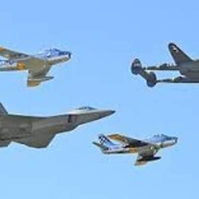 History of the Fighter Jet timeline