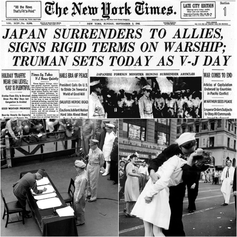 Image result for allies mar vj-day
